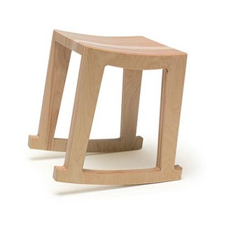 Bryce & Kerry Moore Rocker Stool