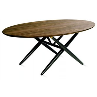 Ilmari Tapiovaara Domino - Ovalette Table