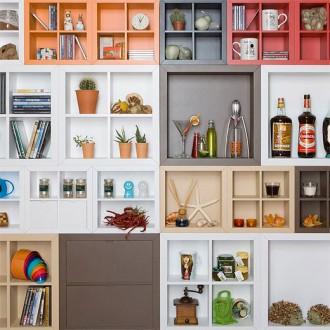 Michele Morozzi and Sabrina Chiaraluce Kadr Cabinets