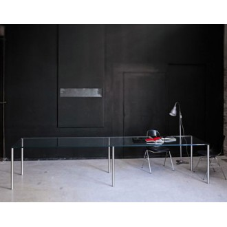 Piero Lissoni Steel Table