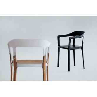 Ronan and Erwan Bouroullec Steelwood Chair