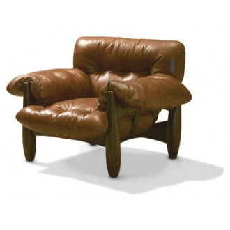 Sergio Rodrigues Mole Sofa and Armchair