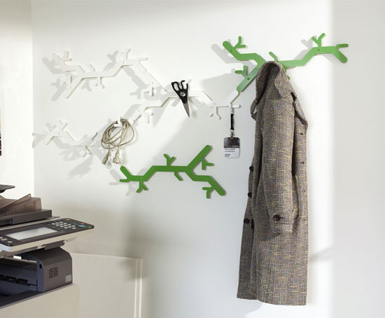 Jan Habraken And Alissia Melka Teichroew Tree Hooked Coat Rack