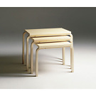 Alvar Aalto Nesting Table 88A, 88B and 88C