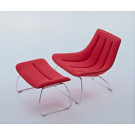 Patricia Urquiola Ola Armchair with Pouf