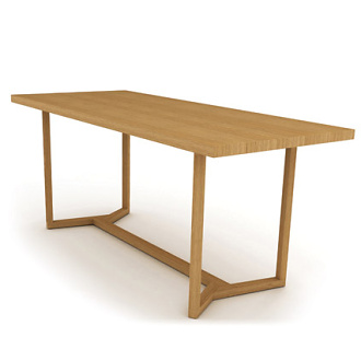 Gala Wright Arris Dining Table