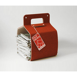 Jonas Forsman Old News Magazine Holder