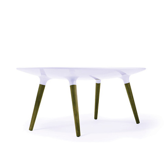 Sarah Kay and Andrea Stemmer Shaper Table