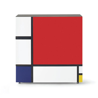 Shiro Kuramata Homage To Mondrian Cabinet