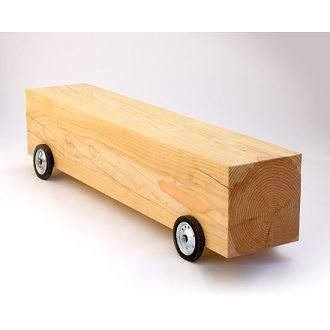 Woodloops Lorry Bench