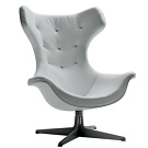 Paolo Rizzatto Regina II Swivel Armchair