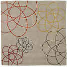 Siw Matzen Spirograph Rug