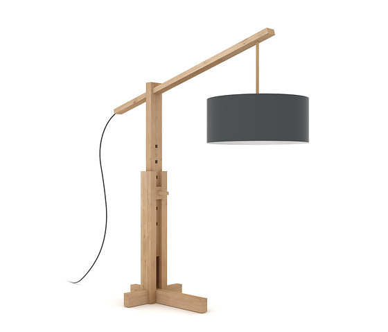 Ethnicraft Totem Lamp