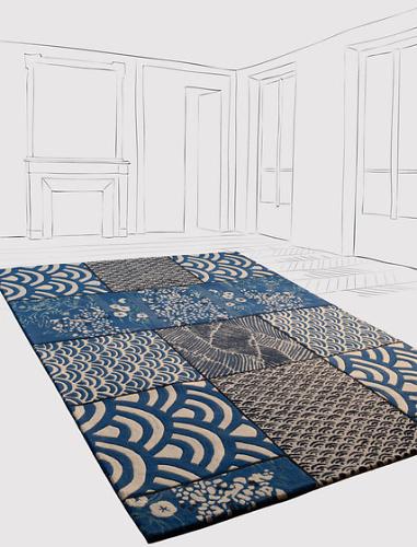 Florence bourel osaka rug - Tapis florence bourel ...