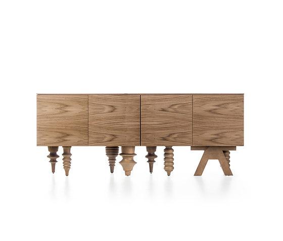 Jaime Hayon Showtime - Multileg Wooden Collection