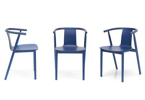 Jasper Morrison Bac Chair Shanghai Blue