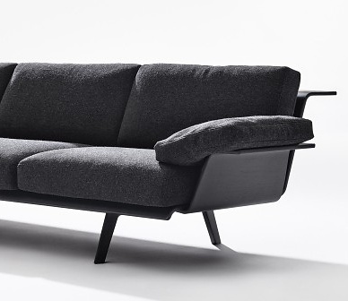 Lievore Altherr Molina Zinta Lounge Sofa System