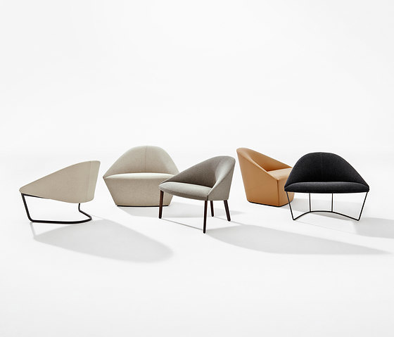 Lievore Altherr Molina Colina Armchair