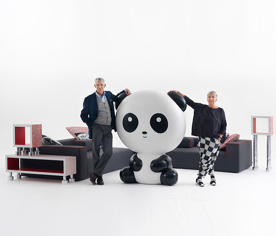 paola navone panda landscape collection. Black Bedroom Furniture Sets. Home Design Ideas