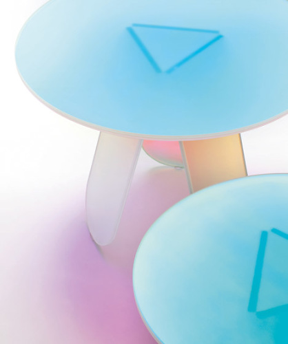 Patricia Urquiola Shimmer Low Table