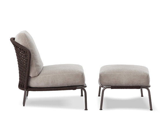 Rodolfo Dordoni Aston Cord Indoor Armchair