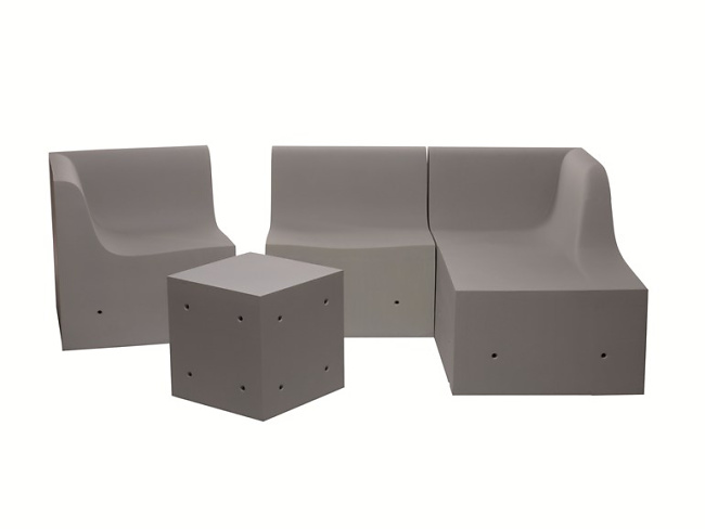 Ross Lovegrove Softcrete Sofa