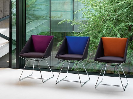 Speziell Girsberger Schlaufenstuhl Chair