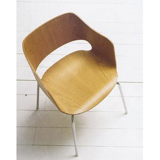 Adrian Peach Jigsaw Small Armchair