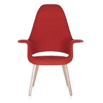 Charles Eames and Eero Saarinen Organic Chair Highback
