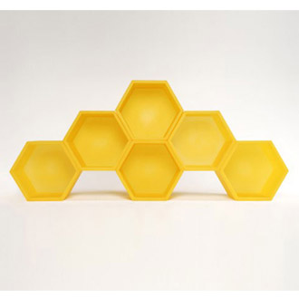 Clive Wilkinson Honeycomb Shelving System