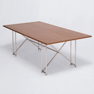 Eileen Gray Double X Table