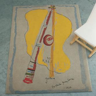 Equipo Santa and Cole La Guitarra Carpet