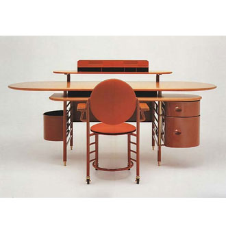Frank Lloyd Wright Johnson Wax 1 Writing Desk