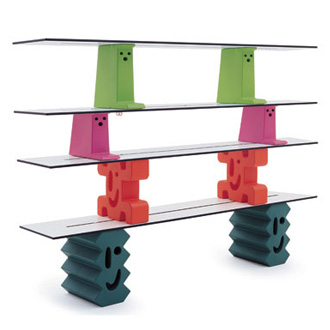 Javier Mariscal Ladrillos Shelving System