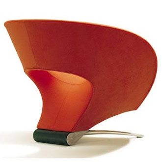 Johan Verde Fora Loop Chair
