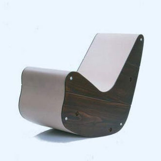 Kiesler Easy Chair and Kiesler Rocker