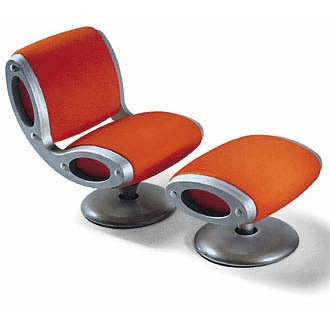 Marc Newson Gluon Chair and Easy Chair