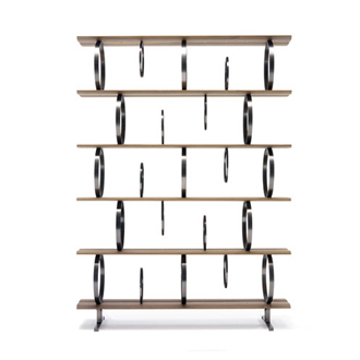 Massimo Castagna Flying Circles Bookcase