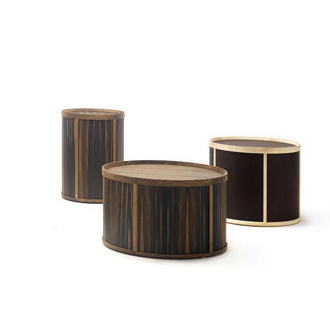 Massimo Castagna Drum Side Tables