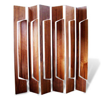 Michael Cannamela 6 Panel Louvered Screen