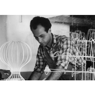 Achille Castiglioni and Pier Giacomo Castiglioni Taraxacum Suspension Lamp