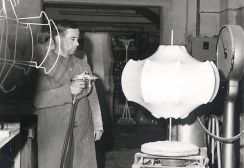 Achille Castiglioni and Pier Giacomo Castiglioni Viscontea Lamp