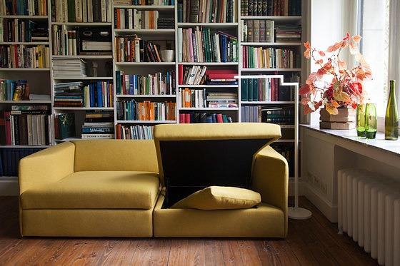 Alain Berteau Open Sofa