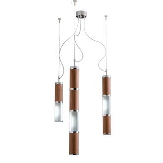 Alessandro Trentin and Carlo Zerbaro Bambù 3 Hanging Lamp