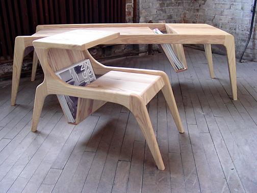 Ali Sandifer Studio Tele Side Table