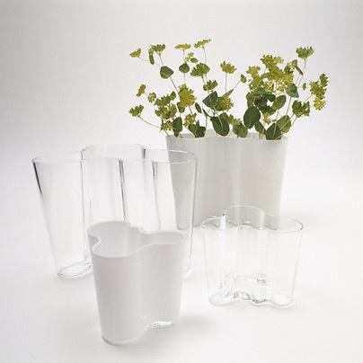 Alvar Aalto Glass Pot