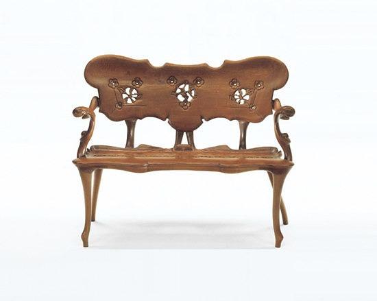 Antoni Gaudi Calvet Chair