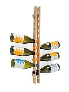 Antonio Lages and Angela Ladeiro Arsenal Bottle Rack