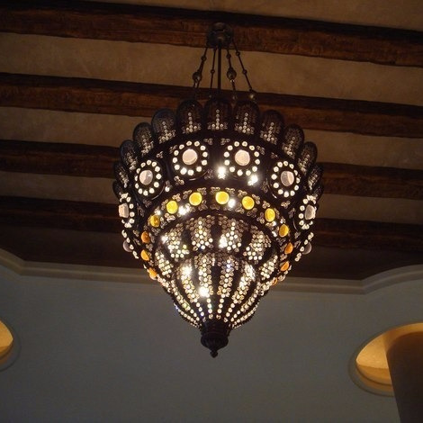 Arab Engineering Bureau Ritz Carlton Al Sharq Doha Chandelier