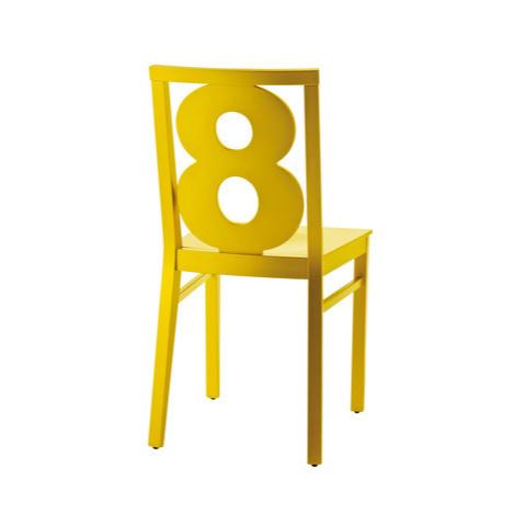 Billiani Luigi Numbers Chair